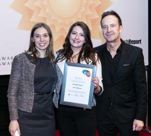 Gewinnerin des letzten INA-Award-Sonderpreises empfiehlt Teilnahme 2016// Preis kleiner Oskar für die Karriere