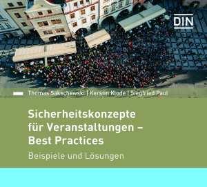 Sicherheit bei Events: Fachbuch aus Beuth Verlag zeigt Beispiele aus der Praxis