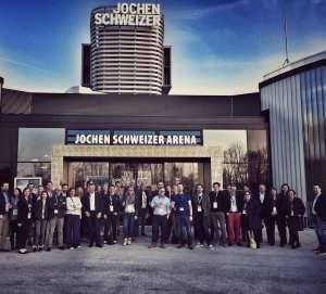 MARKENCAMP zu Gast in der neuen Jochen Schweizer Arena in München - nächstes MARKENCAMP im Mai 2017 in Stuttgart
