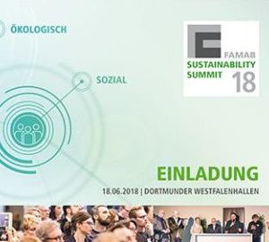 Einladung FAMAB-Sustainability Summit 2018