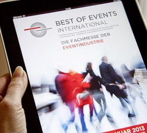 Best of Events mit eigener App
